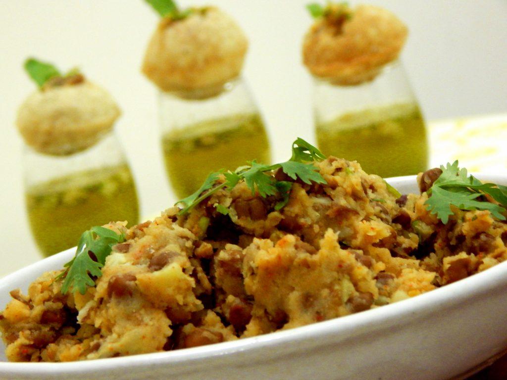 Electric Theatre Cinema Food and Film example dish Pani Puri
