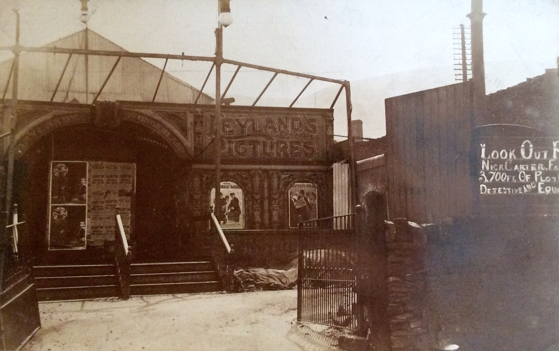 Leyland's Pictures - the early Electric Theatre in Marsden