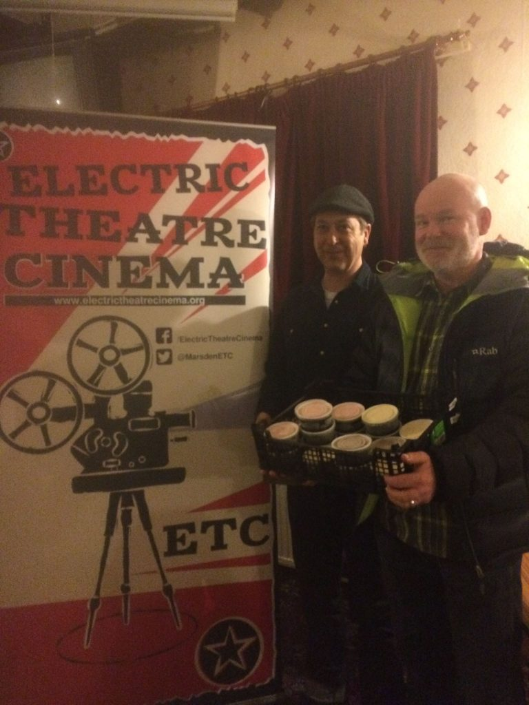 Electric Theatre Cinema ice cream sellers