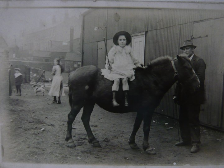 Marsden Electric Theatre Cinema history - Ellen Leyland on horse