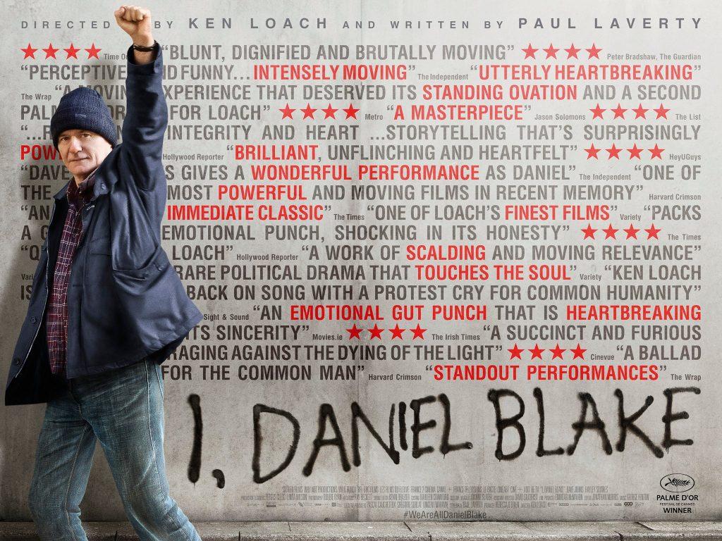 I Daniel Blake poster graphic