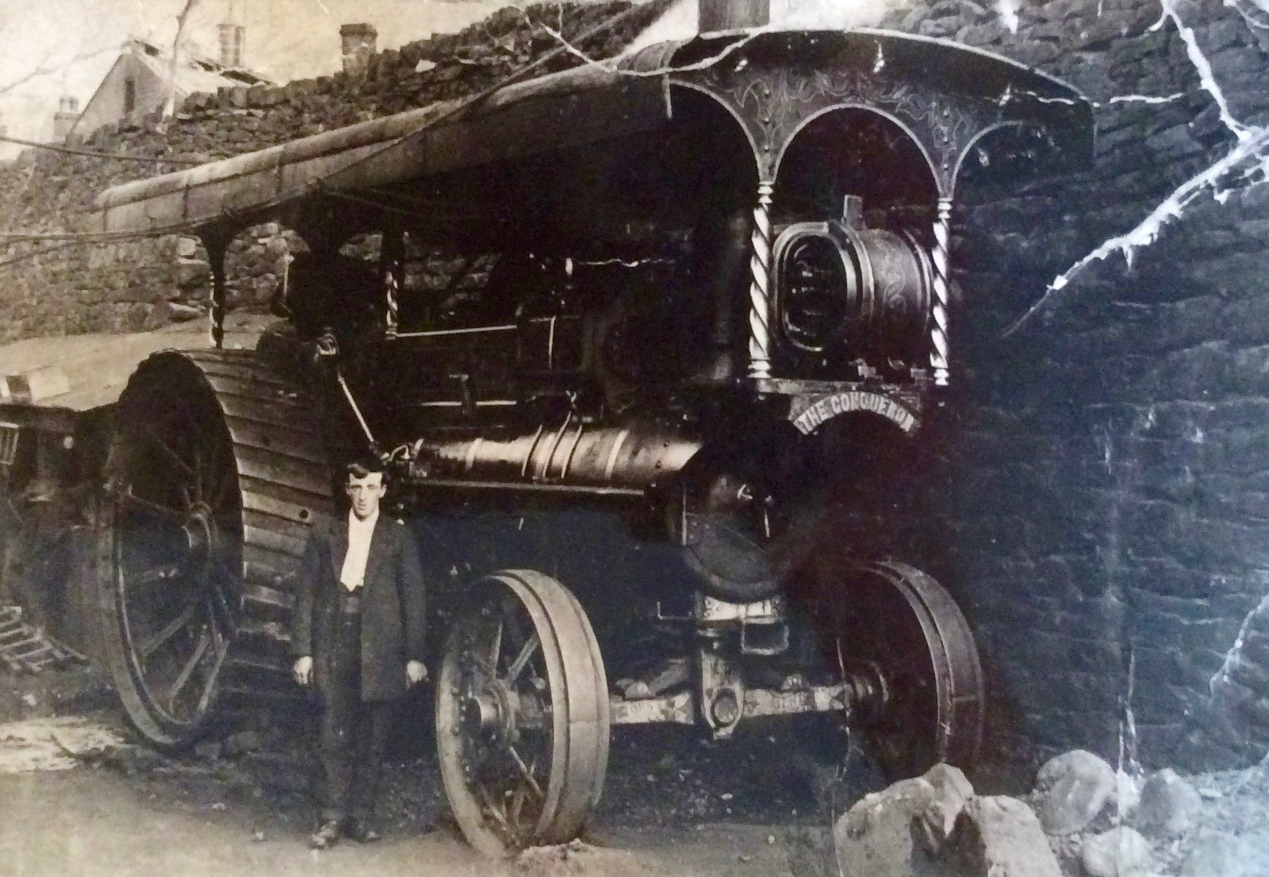 Foden Steam Engine used for Electric Theatre Cinema