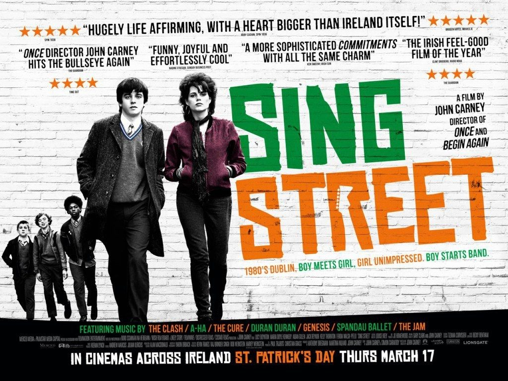 sing street poster shown by Electric Theatre Cinema