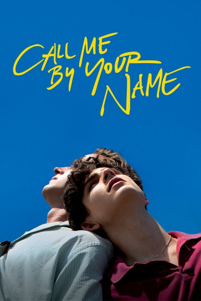 Call me by my name film poster for ETC
